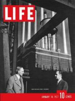 Life Magazine, January 18, 1937 - Henry and Edsel Ford