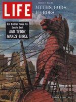 Life Magazine, January 18, 1963 - Greek mythology, Trojan horse