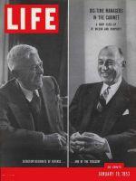 Life Magazine, January 19, 1953 - Cabinet designates