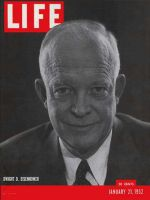 Life Magazine, January 21, 1952 - Eisenhower is running