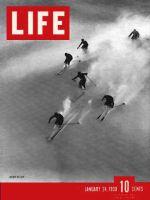Life Magazine, January 24, 1938 - Alpine skiing
