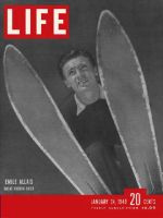 Life Magazine, January 24, 1949 - French skier Emile Allais