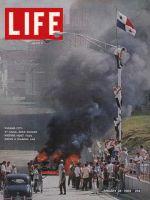 Life Magazine, January 24, 1964 - Riots in Panama