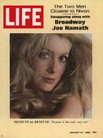 Life Magazine, January 24, 1969 - Catherine Deneuve