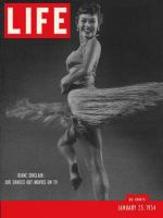 Life Magazine, January 25, 1954 - Dancer Diane Sinclair