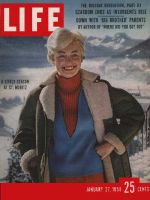 Life Magazine, January 27, 1958 - Alps fashions