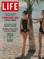 Life Magazine, January 27, 1967 - Bathing suits in fashion at Acapulco