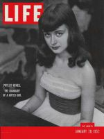 Life Magazine, January 28, 1952 - Triple talent