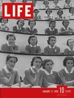 Life Magazine, January 31, 1938 - Student nurses