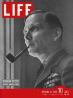 Life Magazine, January 31, 1944 - Air Marshal Tedder