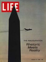 Life Magazine, January 31, 1969 - Washington Monument and plane