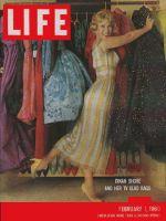 Life Magazine, February 1, 1960 - Dinah Shore