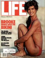 Life Magazine, February 1, 1983 - Brooke Shields In Bathing Suit