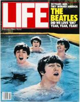 Life Magazine, February 1, 1984 - The Beatles in Swimming pool