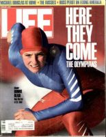 Life Magazine, February 1, 1988 - Winter Olympics, Bonnie Blair