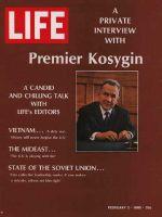 Life Magazine, February 2, 1968 - Aleksei Kosygin