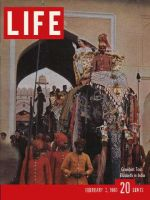 Life Magazine, February 3, 1961 - Queen Elizabeth II in India