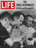 Life Magazine, February 3, 1967 - Astronauts Roger Chafee, Ed White and Gus Grissom