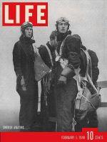 Life Magazine, February 5, 1940 - Swedish Army pilots