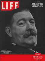 Life Magazine, February 5, 1951 - New York Police Commissioner