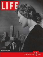 Life Magazine, February 6, 1939 - Peruke hairstyle