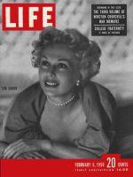 Life Magazine, February 6, 1950 - Eva Gabor