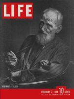 Life Magazine, February 7, 1944 - George Bernard Shaw