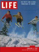 Life Magazine, February 8, 1960 - Training at Aspen, skiing