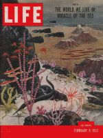 Life Magazine, February 9, 1953 - Ocean's geography