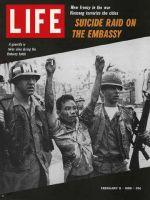 Life Magazine, February 9, 1968 - Captured Vietcong guerillas