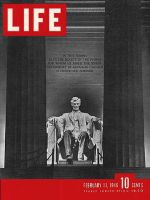 Life Magazine, February 11, 1946 - Lincoln Memorial