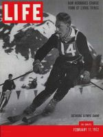 Life Magazine, February 11, 1952 - Olympic skiing