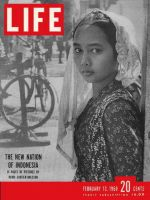 Life Magazine, February 13, 1950 - Indonesian woman
