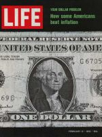Life Magazine, February 13, 1970 - Dollar Bill