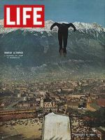 Life Magazine, February 14, 1964 - Innsbruck Olympics, ski jump