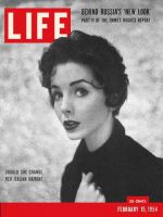 Life Magazine, February 15, 1954 - Which hairstyle