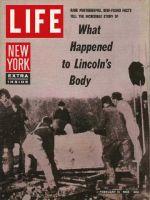 Life Magazine, February 15, 1963 - Abraham Lincoln's exhumation