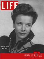 Life Magazine, February 16, 1948 - Joan Tetzel