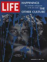 Life Magazine, February 17, 1967 - Underground culture leader, art