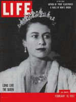 Life Magazine, February 18, 1952 - Queen Elizabeth II