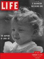 Life Magazine, February 19, 1951 - Adoption, little girl