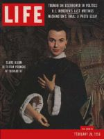 Life Magazine, February 20, 1956 - Claire Bloom
