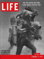 Life Magazine, February 22, 1954 - Undersea movie