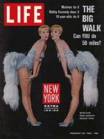 Life Magazine, February 22, 1963 - Song and dance twins