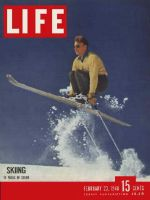 Life Magazine, February 23, 1948 - Oregon ski resort