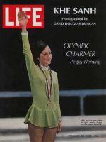 Life Magazine, February 23, 1968 - Peggy Fleming, skating