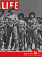 Life Magazine, February 24, 1941 - New Zealand's Anzac soldiers