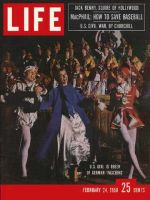 Life Magazine, February 24, 1958 - Carnival queen