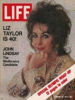 Life Magazine, February 25, 1972 - Elizabeth Taylor