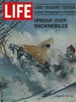 Life Magazine, February 26, 1971 - Snowmobiles